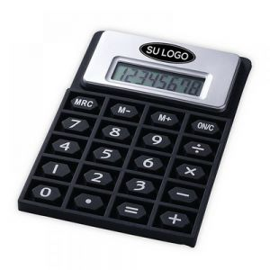 CALCULADORA CON TECLADO FLEXIBLE