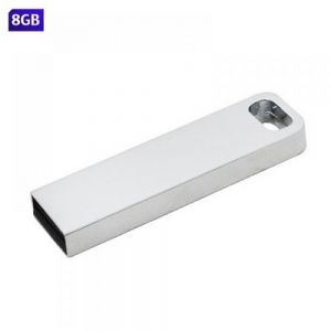 USB RECTANGULAR METALICA 8GB